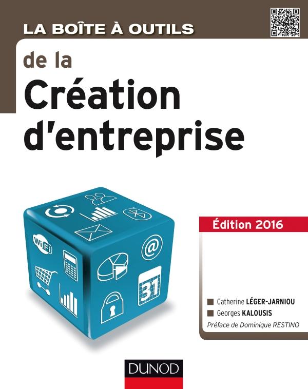 La Boîte à outils de la Création d'entreprise - 3ème édition