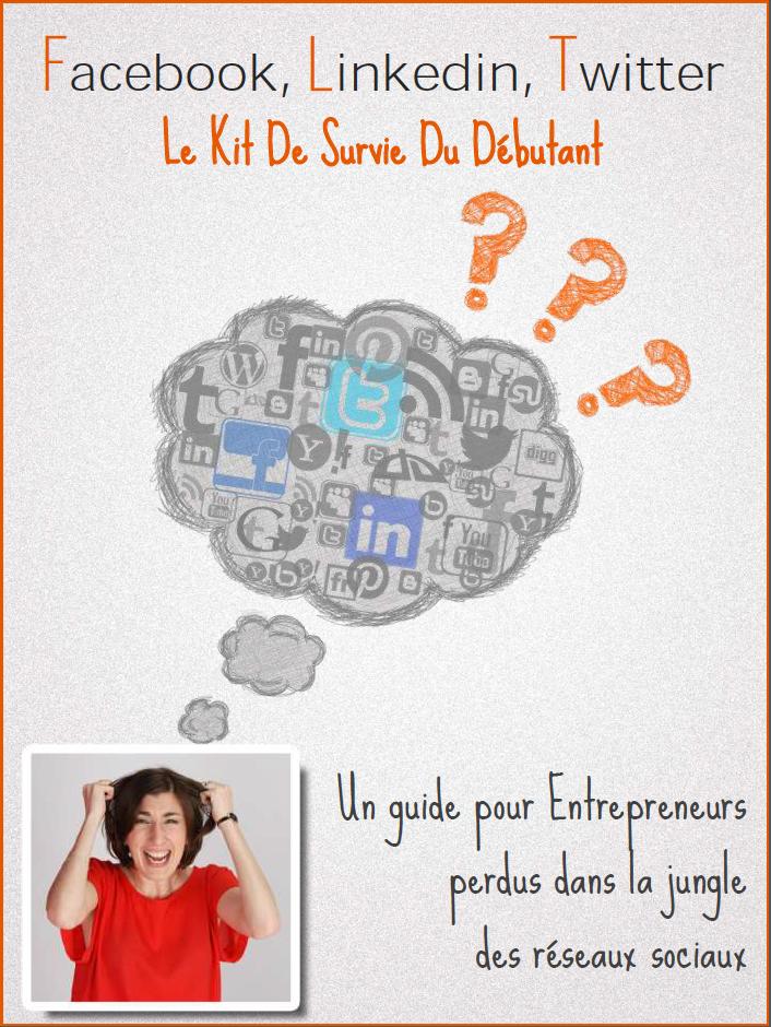 Facebook, Linkedin, Twitter,Le kit de survie du débutant.