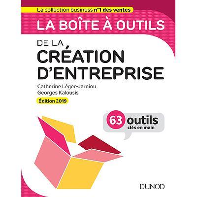 La Boîte à outils de la Création d'entreprise - 5e édition