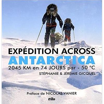 Le défi across Antarctica